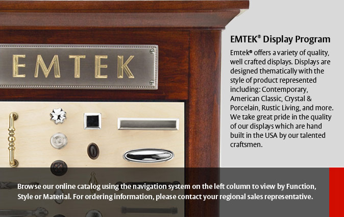 Emtek Display Program