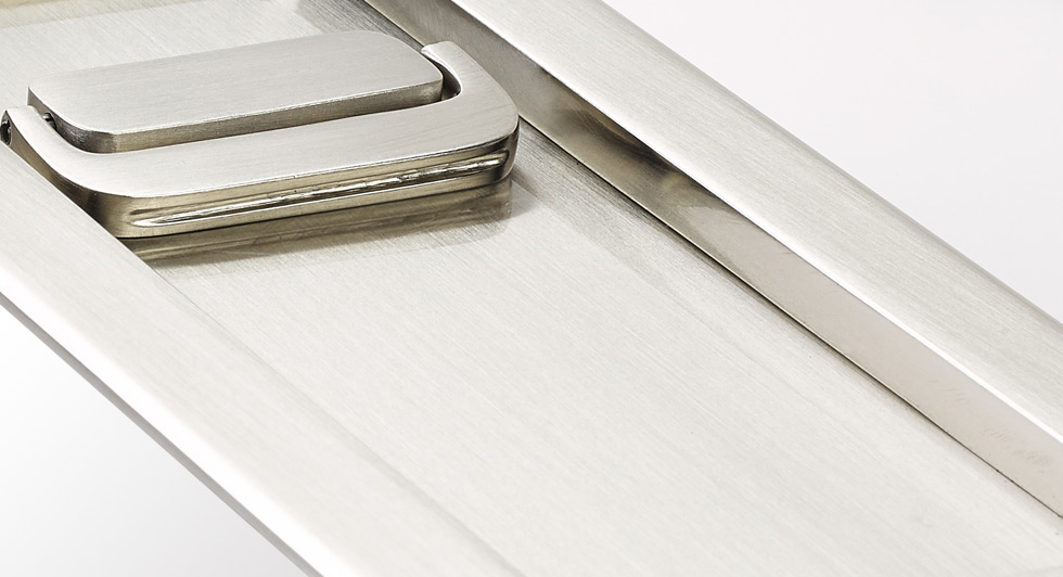 Attirant Give Your Pocket Doors A Clean, Contemporary Trim Style With A High Quality  Lock.