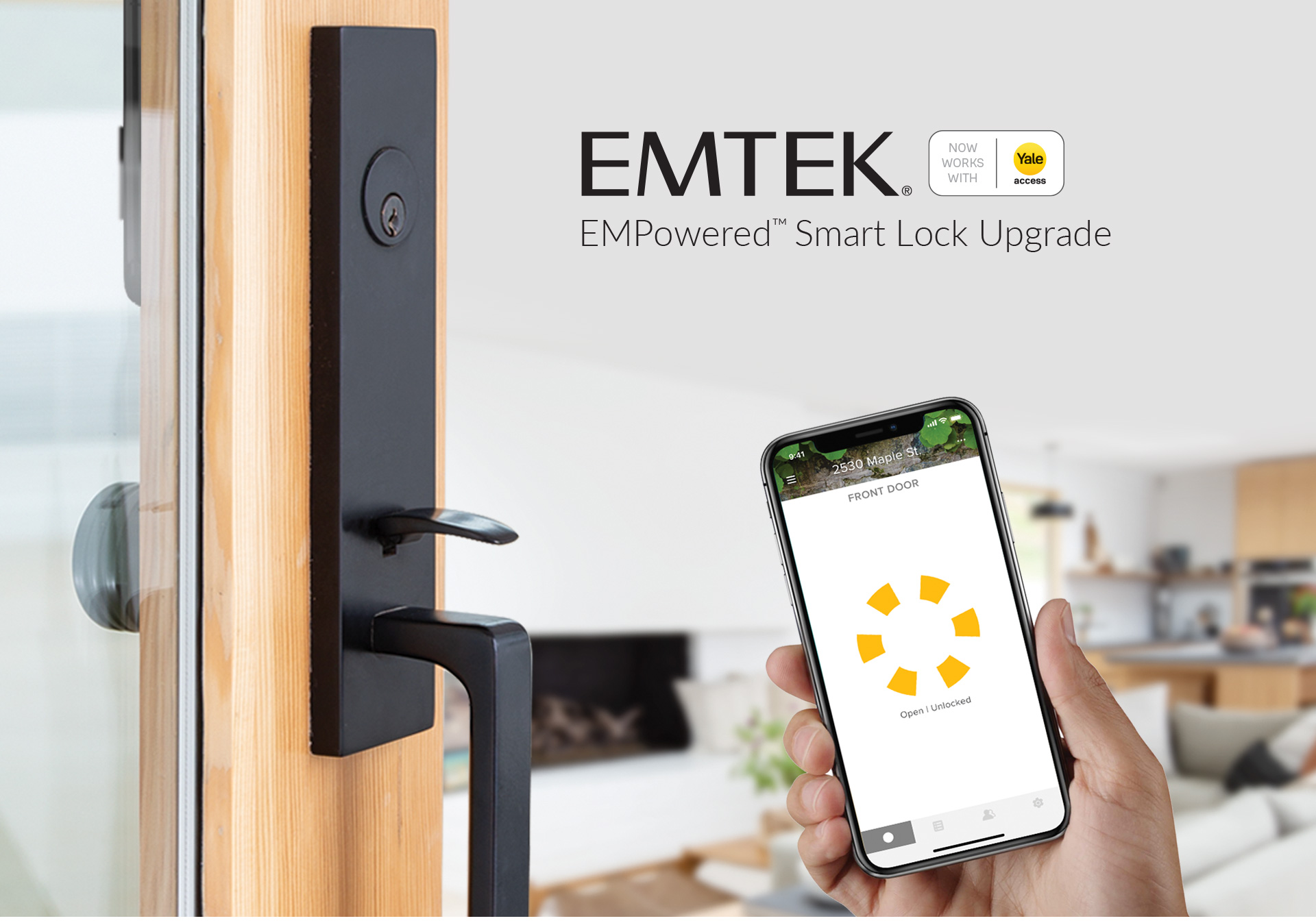 The EMPowered™ Smart Lock Upgrade - Connected by August