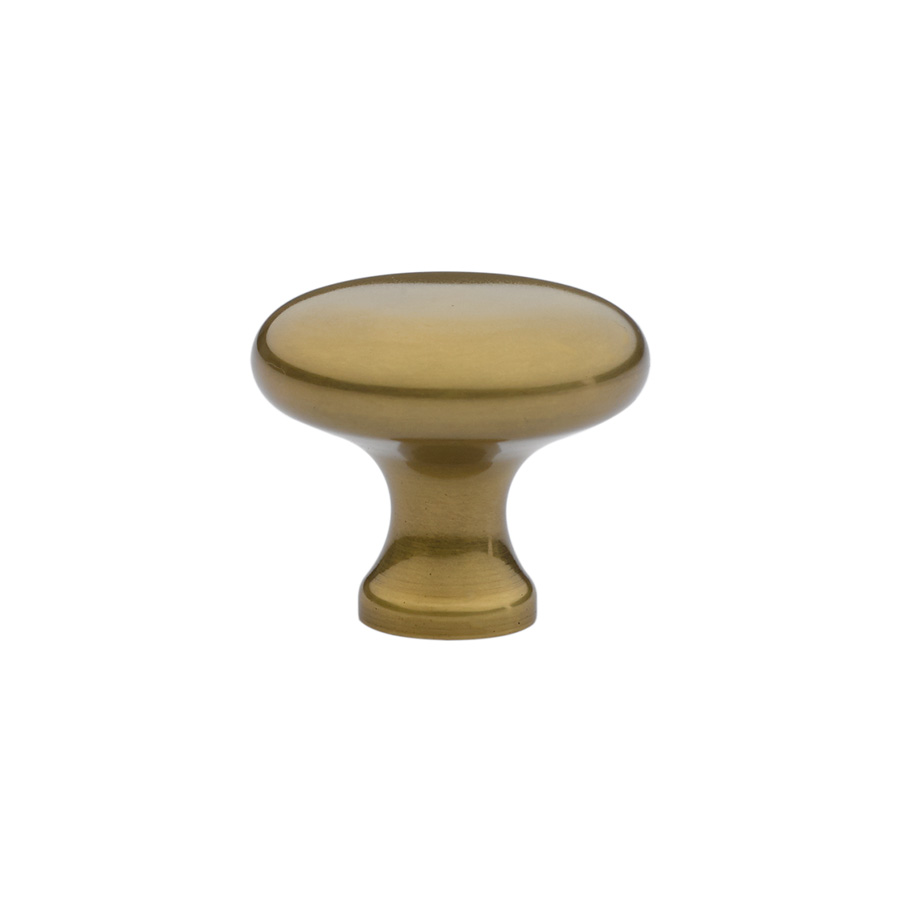 Brass Providence Cabinet Knob In French Antique Finish