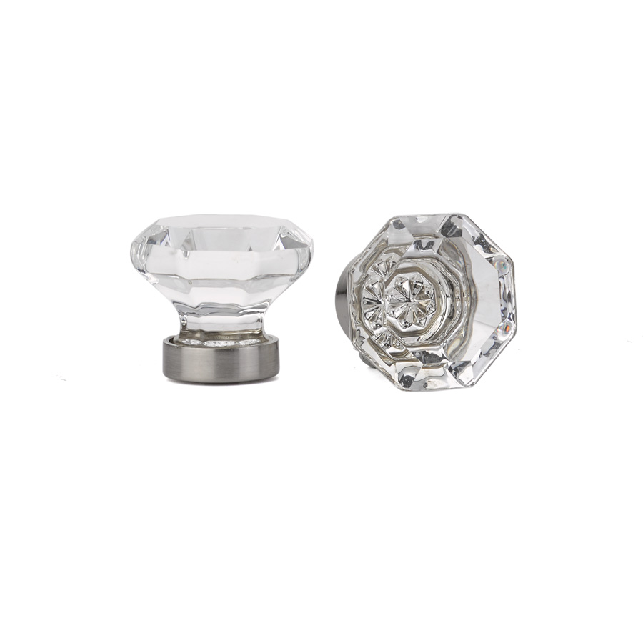 Old Town Clear Cabinet Knob