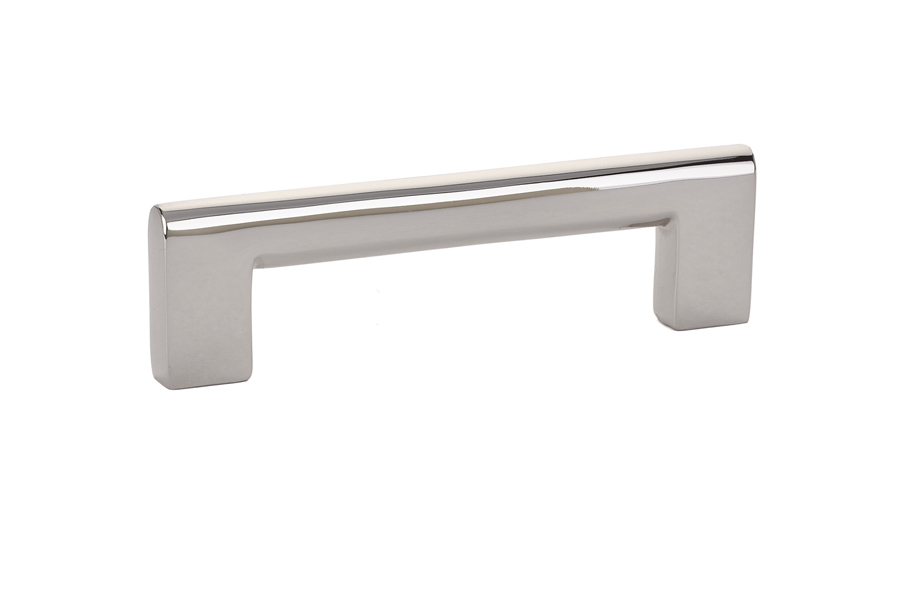 brass trail cabinet pull in polished nickel finish
