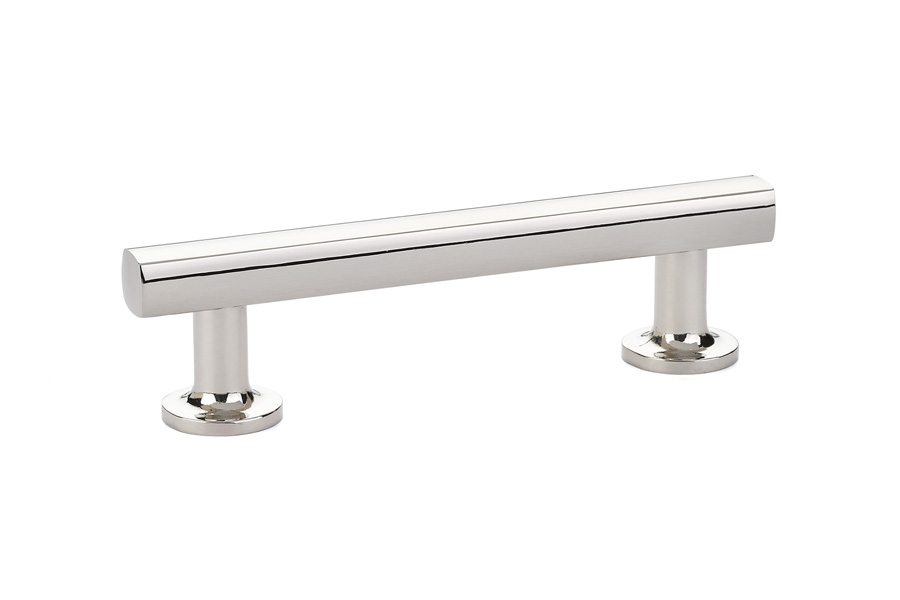 Freestone Cabinet Pull In Polished Nickel