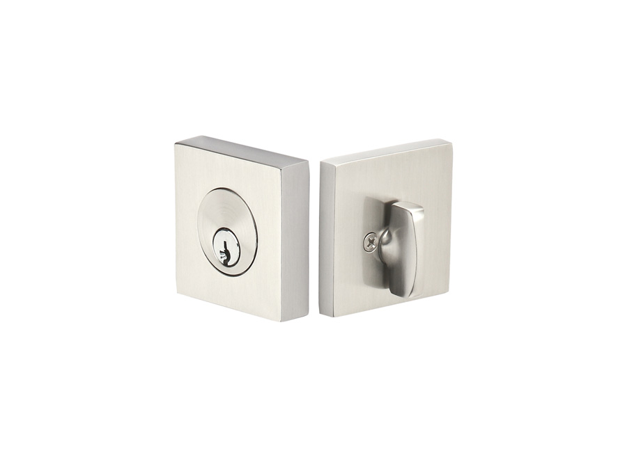 Square Deadbolt Emtek Products Inc