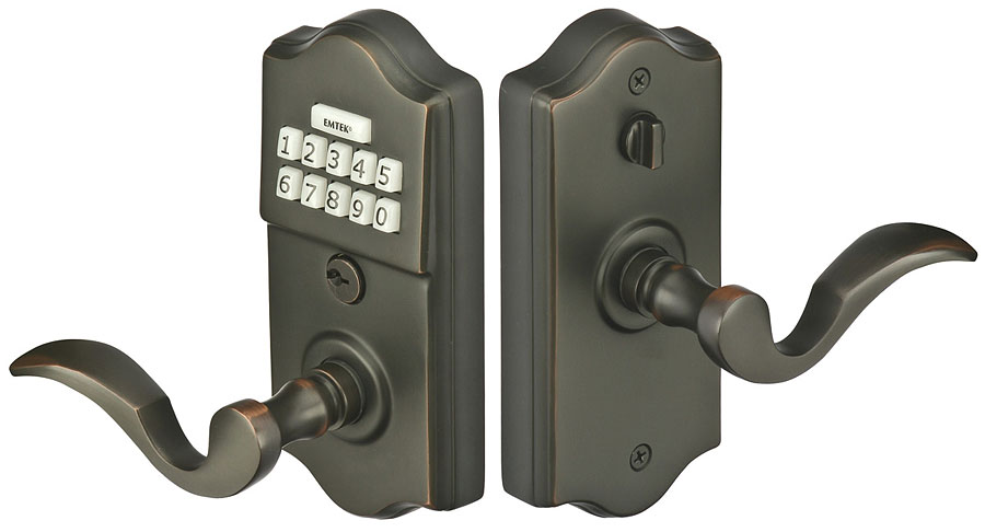 Brass Keypad Leverset American Classic Entry Sets