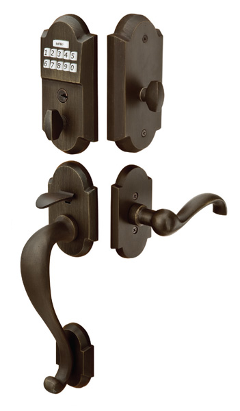 door hardware locks handles entrysets emtek products inc. Black Bedroom Furniture Sets. Home Design Ideas