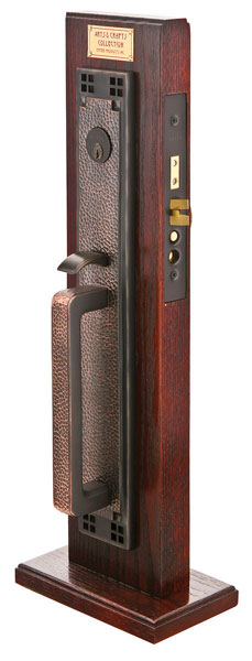 Craftsman Full Length Arts Crafts Mortise Entry Sets