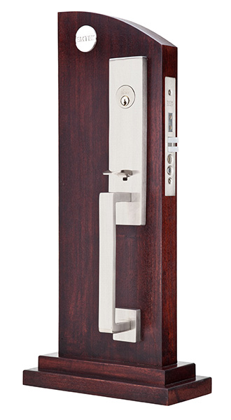 Mormont Stainless Steel Contemporary Lock Sets Mortise Entry Sets Emtek