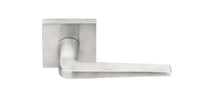 Stainless Steel Athena Lever | Contemporary Lock Sets | Passage/Privacy  Levers | Emtek Products, Inc.