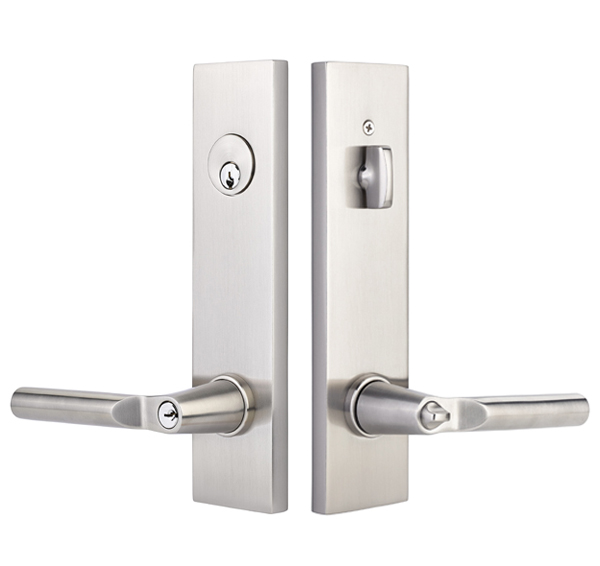 Exceptional Modern Rectangular Two Point Lock